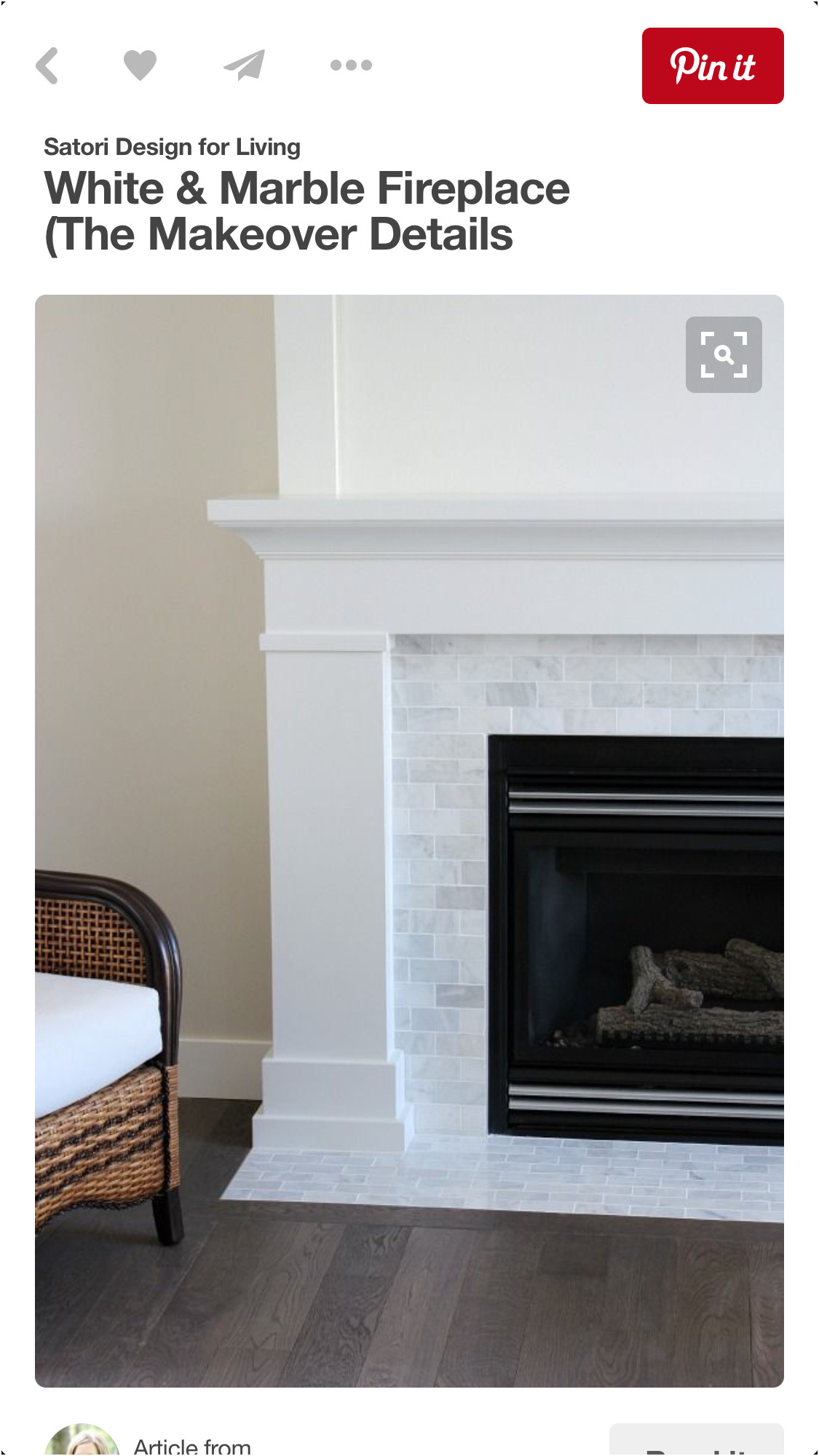 Inspirational Tile Fireplace Surround Ideas