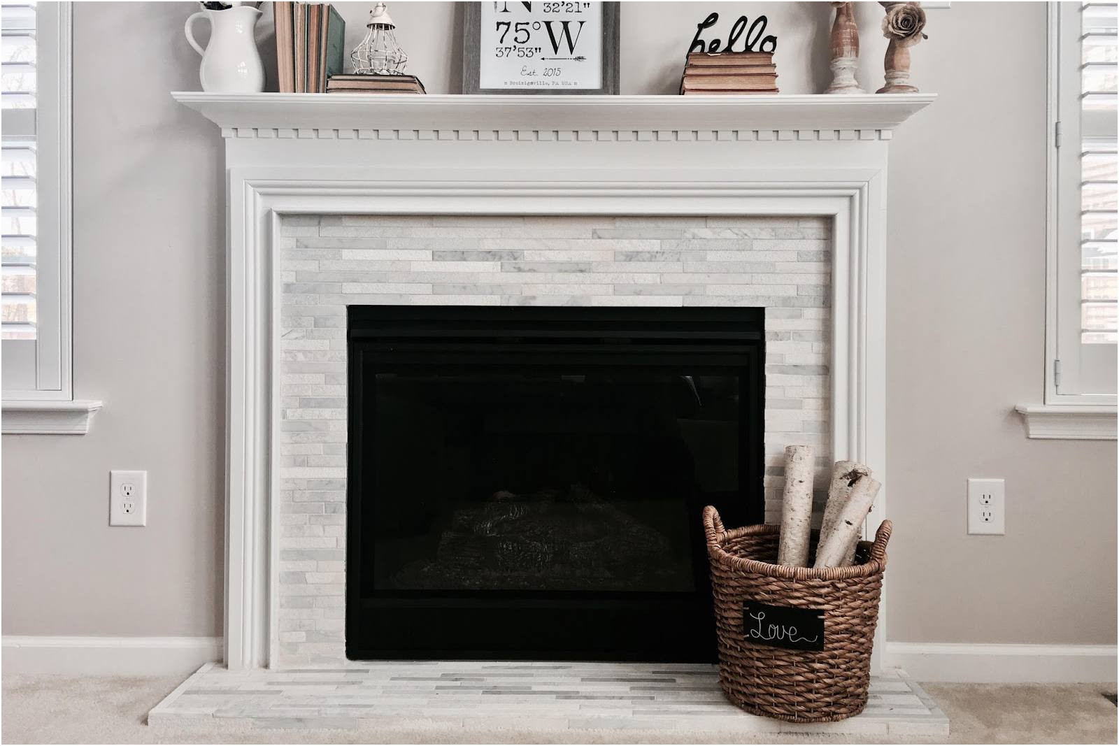 New Tile Fireplace Surrounds Ideas