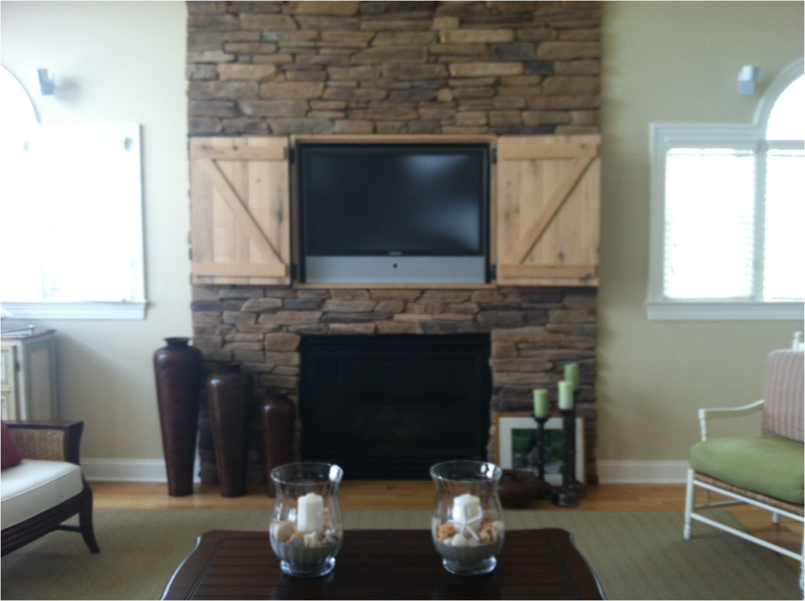 Fresh Tv Above Gas Fireplace Ideas