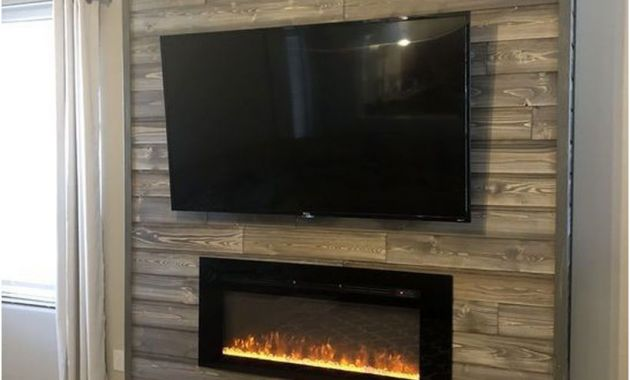 Wall Mount Fireplace Ideas Unique 46 Rustic Tv Wall Design Ideas for Home
