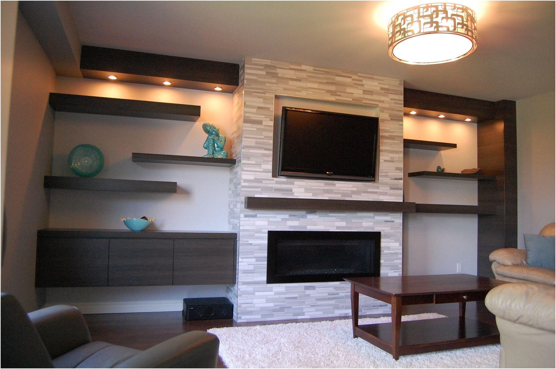 Awesome Wall Mounted Fireplace Ideas